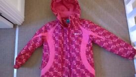 Girls Mountain Warehouse Coat, Age 7-8