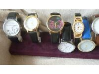 Watches new some pre-owned £1 each
