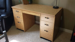 Clean Solid Desk for Sale!