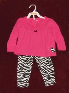Baby girl top and pants from Carter's, 18-24 months.