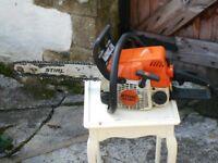 stihl ms180 petrol chainsaw spares/repair