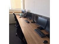 Office Desk Space with Friendly IT Company - Next to A23/A27