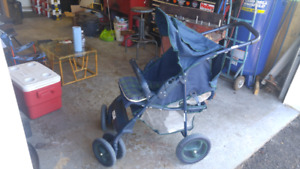 Graco outrider stroller.  Big wheels