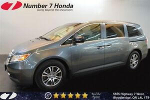 2012 Honda Odyssey EX-L| Leather, DVD, Backup Cam!