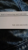 Kyles contracting and odd jobs
