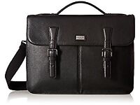New Ted Baker Bengal Leather Satchel Black RRP £265
