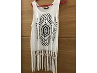 Two tops size 8 perfect for holidays