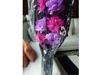 Next Artificial Flowers/ Blooms -Pink & Lilac Flower Arrangement