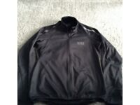 Gents Gore Wear soft shell cycling jacket.