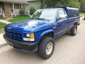 1992 Dodge Dakota 4x4 Pickup