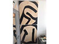 2 Large Eduardo Chillada Paintings (imitation)