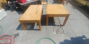 Tables salon en bois