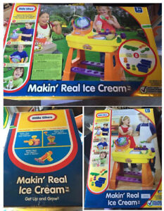 BNIB Little Tikes: Makin' Real Ice Cream