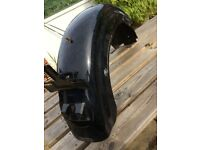 Harley Sportster rear fender/mudguard