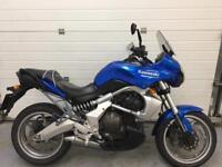 Kawasaki Versys KLE 650 2009 Credit / Debit cards welcome TWIN adventure commuter bike