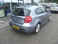 BMW 1 SERIES 2.0 116D M SPORT 3d 114 BHP (blue) 2010