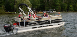 Montego Bay Pontoons and MirroCraft Boats. 18's instock