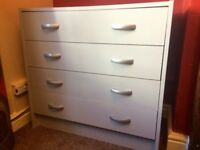 CHEST OF DRAWERS - PALE GREY