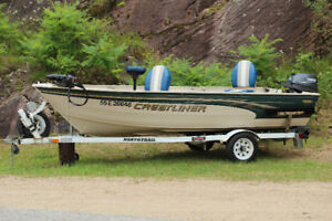 14' Crestliner Fishing Boat