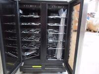 UBWCTZ60B 60CM TWO DOOR WINE COOLER BUILT-UNDER NEW RRP £479