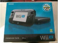Wii u premium pack BOX ONLY