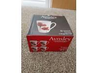 Aynsley porcelain mug set