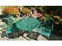 Garden table & 2 chairs. Bistro set