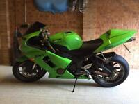 Kawasaki ninja zx6r 636 c1h