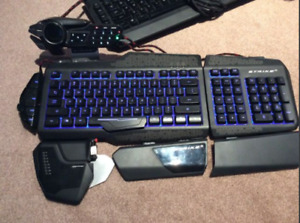"""S.T.R.I.K.E. 5. Gaming computer keyboard  110 OBO"