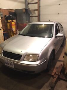 2002 Jetta TDI as is