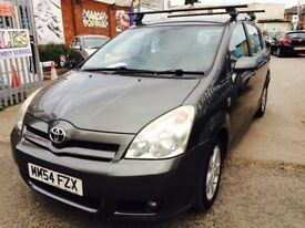TOYOTA COROLLA VERSO 2.0 D-4DT3 DIESEL MANUAL 2005 1 OWNER 7 SEATER