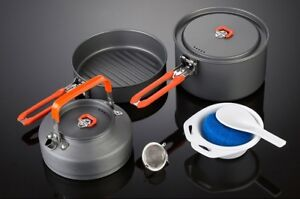 Camping Pot Cookset 10pcs
