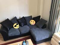 Large 6 months Used L-Shape Argos Couch