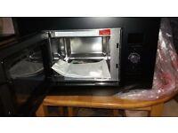 Russell hobbs 20 liters built in black digita microwave oven