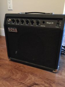 Nova Stage 30 Amp!  With ALL CORDS Perfect Condition