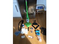 Thane Steam Cleaner model H20X5 plus accessories. Hardly used.