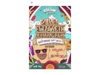 2 x Elrow Tickets for Saturday 19th August