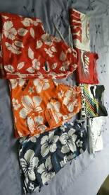 Shorts nd t-shirts