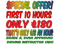 GRADE A DRIVING INSTRUCTOR | QUALITY DRIVING LESSONS AT AFFORDABLE PRICES | DRIVING SCHOOL