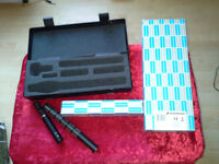 Sennheiser ME 66 Short Gun Microphone Head and Sennheiser K 6 Powering Module