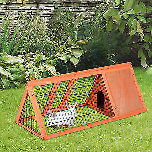 Small animal wooden hutch unopened 80$