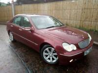 Lovely Mercedes C220 CDI Elegance top spec auto full leather long mot fsh like 320d jaguar a4 lexus