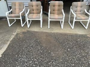 4-Comfy Patio/Deck Chairs /Cushions