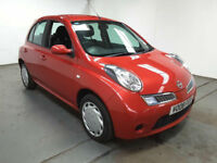 2008(08)NISSAN MICRA 1.2 ACENTA MET RED,5DR,CLEAN CAR,GREAT VALUE