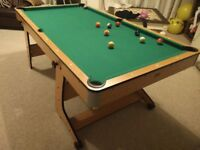 BCE Pool / Snooker Folding Table