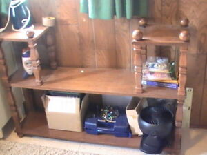 Wood Shelf, Wooden Shelving Unit, Small Kids Play Table
