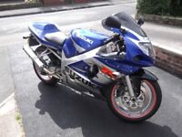 Suzuki GSX_R 600 with very low mileage, in exceptional condition!