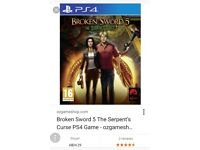 Broken sword 5 (the serpents curse) for ps4
