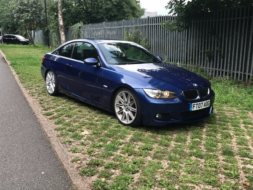 bmw 320d e92 m sport coupe automatic in greenford london gumtree. Black Bedroom Furniture Sets. Home Design Ideas