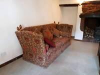 Knole Sofa and Snuggle chair